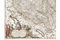 Burgundiae, Witt de Fr., kolor. mědiryt 1690