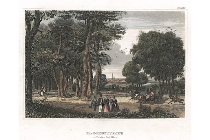 Wien Prater , Meyer, kolor. ocelor., 1850