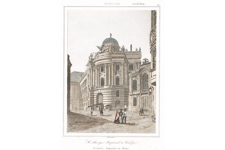 Wien Menagerie, Le Bas, oceloryt 1842