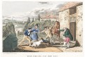 Psi rvačka,Alken H, akvatinta, (1840)