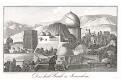Jeruzalem Chrám Božího hrobu, mědiryt, (1820