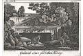 Jeruzalém hroby králů, mědiryt , 1827