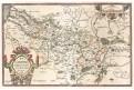 Ortelius A. : Picardiae, mědiryt, (1600)