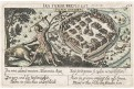 Plzeň, Meissner, kolor. mědiryt, 1678