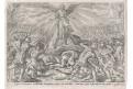 Ezdráš 13/3, Voss -  Wierix, mědiryt, 1610