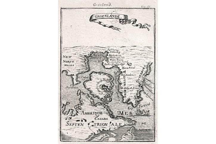Gronskol, Mallet, mědiryt, 1719