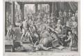 Stradanus - R. Sadeler: Smrt, mědiryt, 1595