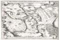 Třebel  Planá bitva,  Merian, mědiryt, 1651