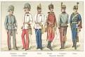 Rakousko vojáci 28.,Chromolitografie (1900)