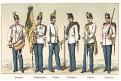 Rakousko vojáci 19,Chromolitografie (1900)