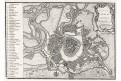 Wien Vídeň plán, Stockdale, mědiryt 1800