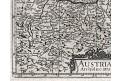 Austria, Janssonius J., mědiryt, (1648)