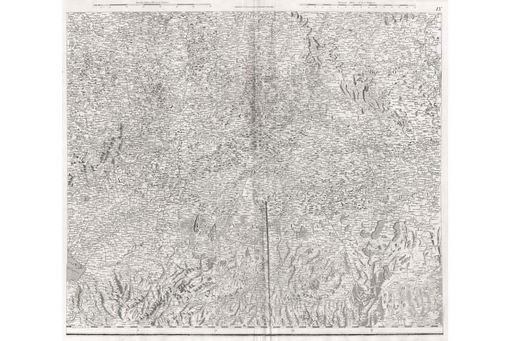 Čechy  Německo, Stockdale, mědiryt 1800