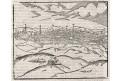 Löwen, Leuven, S. Münster, dřevořez, (1570)