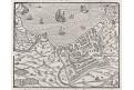 Neptun, S. Münster, dřevořez, (1580)