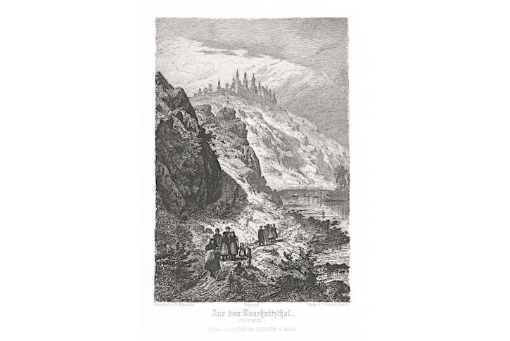 Klokoty údolí Lužnice, lept, 1920