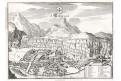 Saint-Maurice, Merian,  mědiryt,  1642