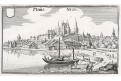 Neuis Nion , Merian,  mědiryt,  1642