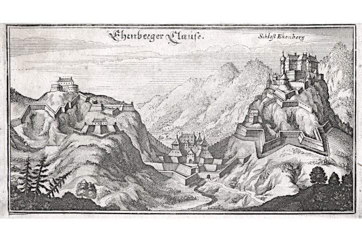 Ehrnberger Clause, Merian,  mědiryt,  1649