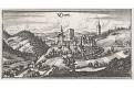 Clamb -  Klam, Merian,  mědiryt,  1649