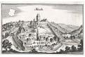 Albeckh, Merian,  mědiryt,  1643