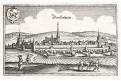 Bruckenheim, Merian,  mědiryt,  1643