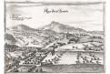 Bad Großpertholz ,Merian, mědiryt, 1649