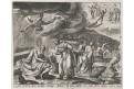 Snellinck I. Jan : Job a Satan, mědiryt, 1585