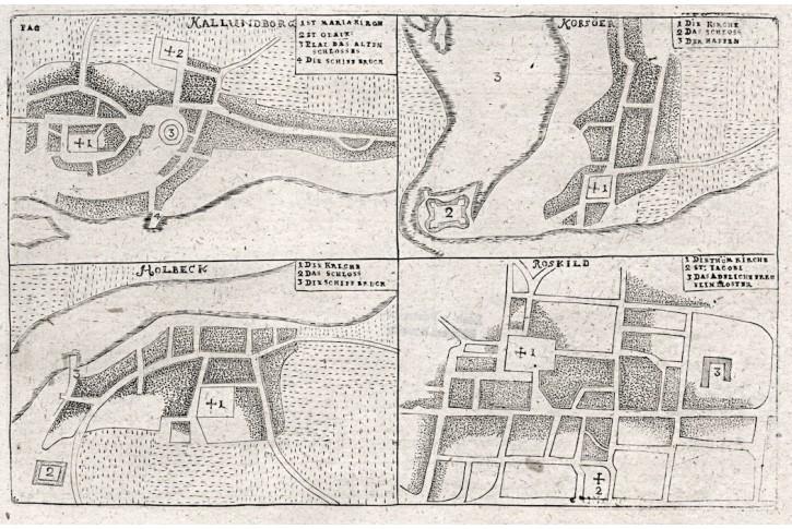Korsöer, Pontoppidan, mědiryt, 1730