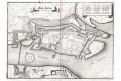 Toruň - Thoren, Merian, mědiryt, 1652