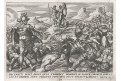 Snellinck I. Jan : Josue a poažení, mědiryt, 1585