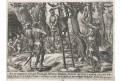 Muller H. J. : Oběšení králové, mědiryt, 1585
