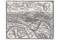 Praha 1574, Münster, dřevořez , 16 stol
