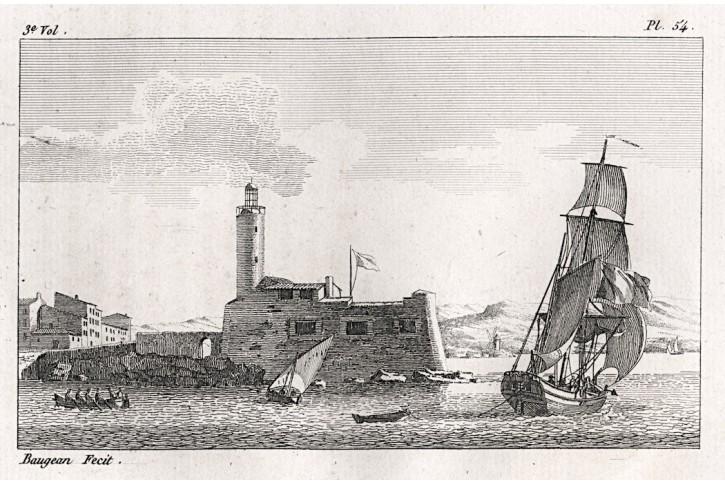 Lodě 54, Baugean, lept, (1820)