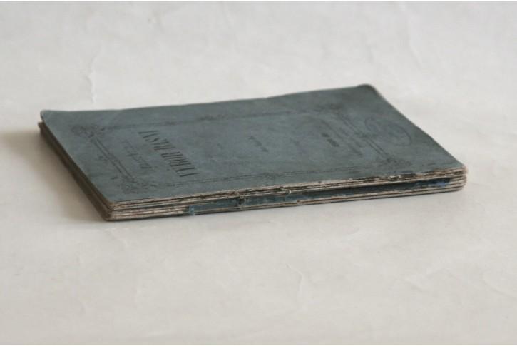 Frič Josef V.: Výbor z básní, Geneva, 1861 1. vyd.