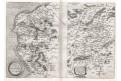 Ortelius A. : Caletensium Et ...., mědiryt, 1595