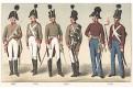 Rakousko vojáci 8.,Chromolitografie (1900)
