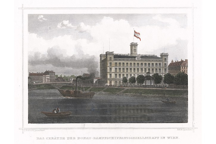 Wien Paroplaveb, Ruthner, kolor. oceloryt 1871