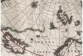 Janssonius J.: Poli Arctici, mědiryt, (1640)