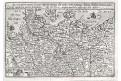Bussemacher, Saxoniae, mědiryt, 1596