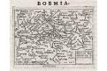 Bohemiae, Ortelius - Marchetti, mědiryt, 1598