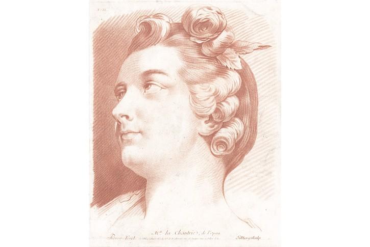 Chantrie, Gillberg, mezotinta, (1780)