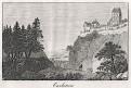 Karlštejn, André, mědiryt, 1827