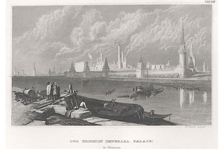 Moskva Kreml I., Meyer, oceloryt, (1850)