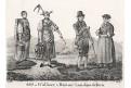 Wallis Bern kroje, Neue Bilder.., litografie, 1837