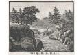 Hudson pramen, Neue Bilder.., litografie , 1837