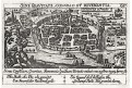 Saintes, Meisner, mědiryt, 1637