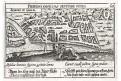 Rouen plán, Meisner, mědiryt, 1637