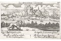 Dinant, Meisner, mědiryt, 1637