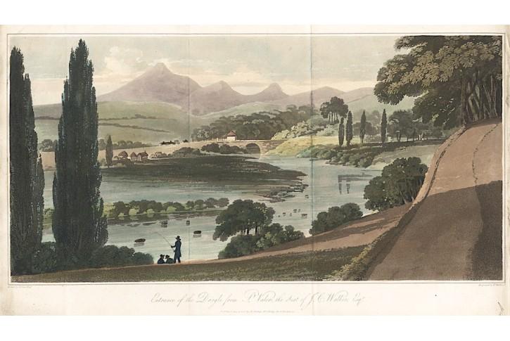 Dargle, Medland, akvatinta, 1806